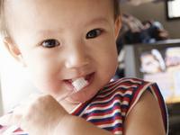 Children to brush their teeth Stock photo [1341634] Baby