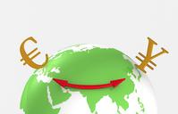 Euro yen exchange FX 揃 Earth [1425827] 金融