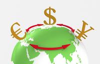Dollar-euro yen exchange FX [1425999] 円