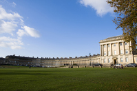 Of the United Kingdom Bath Royal Crescent Stock photo [1428364] Bath