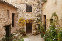 Than a small village Tourette-sur-Loup in the south of France Stock photo [1430115] Southern