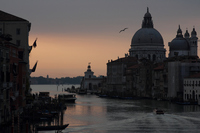 Grand Canal seen from the Accademia Bridge Stock photo [1430935] Italy
