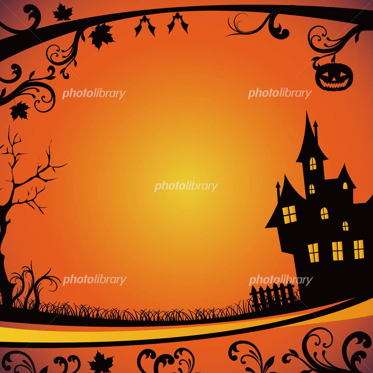 Halloween background イラスト素材