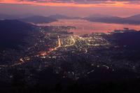 広島県 呉市 灰ヶ峰展望台 夜景