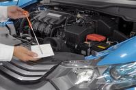 Automotive engine oil check of Stock photo [1524010] Automotive
