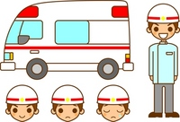 Paramedics and ambulance [1526286] Emergency