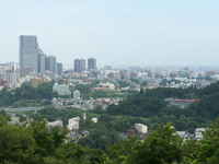Sendai city you want from Sendai Castle Stock photo [1526555] Sendai