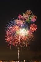Yokosuka opened Festival fireworks 2011 Stock photo [1530660] Yokosuka-Shi