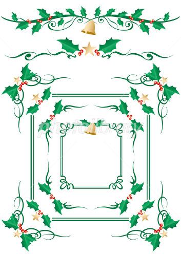 クリスマス 枠 イラスト素材 1627904 フォトライブラリー Photolibrary