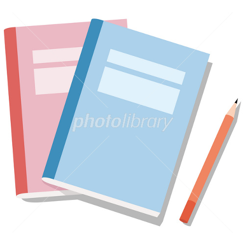ノートと鉛筆 イラスト素材 1631093 フォトライブラリー Photolibrary
