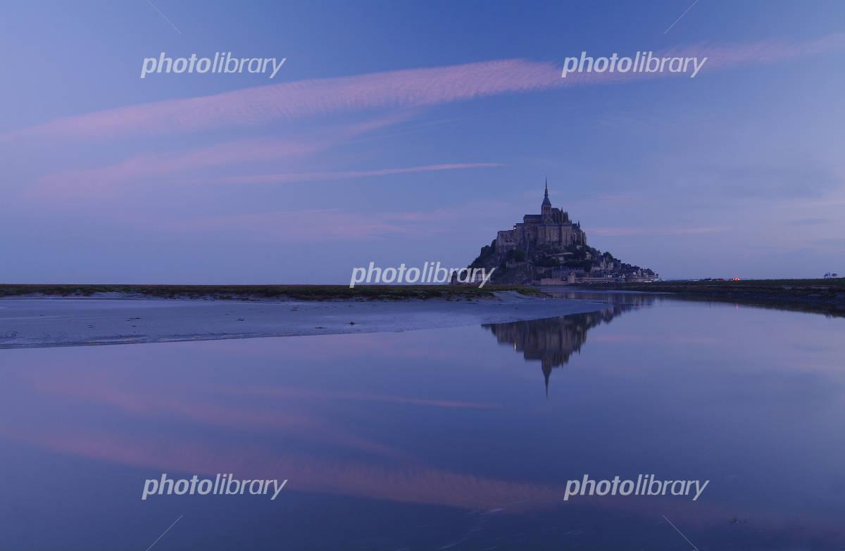 Dawn Mont-St-Michel Photo