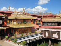 Tibet Jokhang Temple Stock photo [1622918] Jokhang