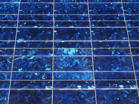 The surface of the solar panel Stock photo [1628221] Solar