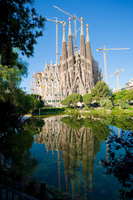 Sagrada Familia Stock photo [1628729] Spain