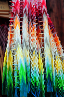 Thousand paper cranes Stock photo [1631799] Thousand