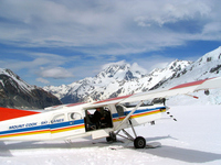 Mount Cook Ski Plane Stock photo [1632951] Mount
