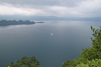 Seen from 瞰湖 stand Towada Stock photo [1635319] Lake