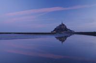 Dawn Mont-St-Michel Stock photo [1638404] Mont-Saint-Michel