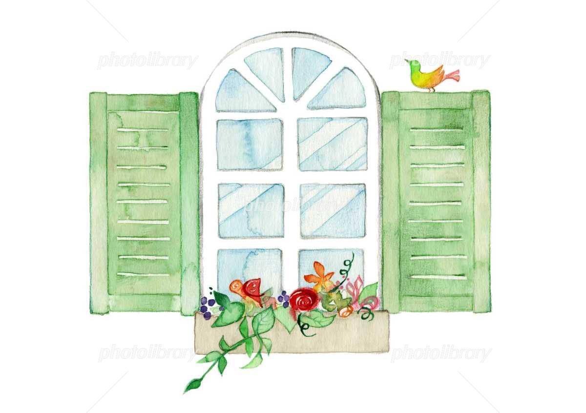 窓 イラスト素材 1726973 フォトライブラリー Photolibrary