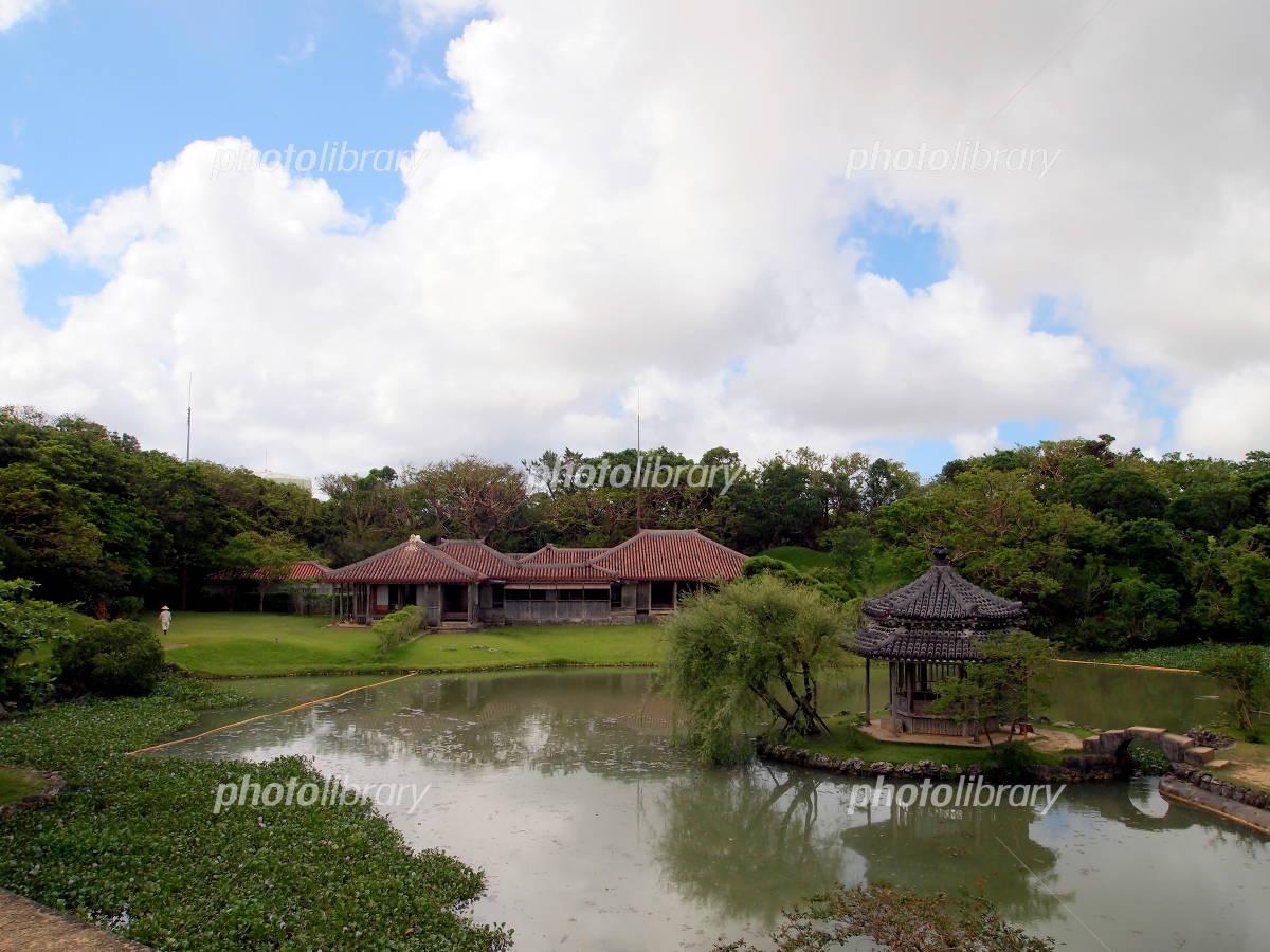 World Heritage Okinawa Shikinaen Garden Photo