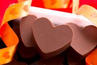 Handmade chocolate Valentine's Day Stock photo [1725647] Valentine's