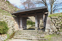 Tottori Castle restoration gates Stock photo [1729682] Tottori