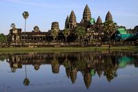 Panoramic view of the World Heritage Angkor Wat Stock photo [1732600] World