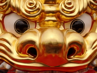 The Gold Lion Stock photo [1738840] Karatsu