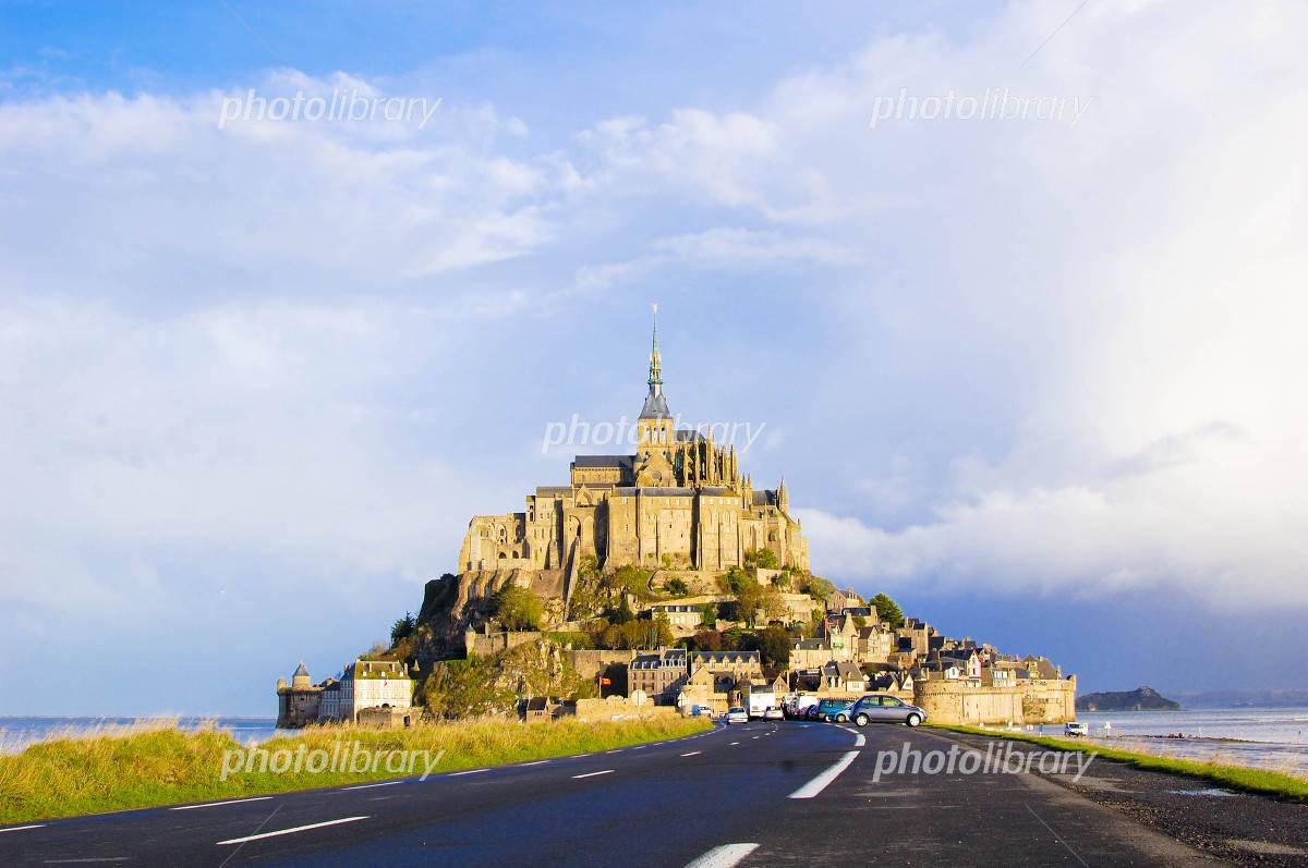Mont Saint Michel center Photo