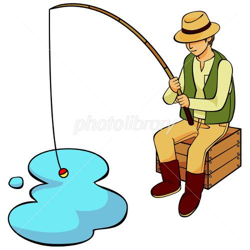 釣り人 イラスト素材 [ 1801695 ] - フォトライブラリー photolibrary