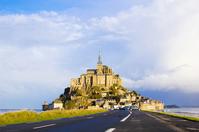 Mont Saint Michel center Stock photo [1801220] Le