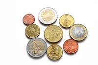 Euro coins Stock photo [1802228] EUR