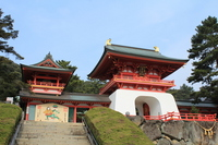 Akama Shrine Stock photo [1803206] Yamaguchi