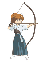 Girl / archery [1808709] Girls