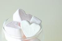 Heart of marshmallows Stock photo [1810463] Hart