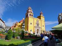Cathedral and the streets of Guanajuato Stock photo [1913295] Guanajuato
