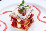 Strawberry cake Stock photo [1917078] Strawberry