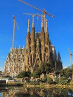 Spain Sagrada Familia Stock photo [1923080] Building