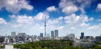 Tokyo Sky Tree panorama Stock photo [1923273] Sky