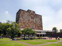 Mural of National Autonomous University of Mexico Stock photo [1923342] National