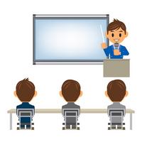 Businessman illustrations presentation Presentation