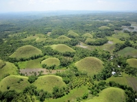 Bohol Island Chocolate Hills Aerial Stock photo [2020276] Asia