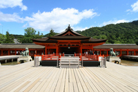Itsukushima Shinto shrine Stock photo [2022194] Hiroshima