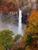 The Kegon Falls of autumn leaves Stock photo [2022203] Kegon