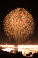 Nagaoka Festival fireworks Shozo long ball Stock photo [2024338] Nagaoka