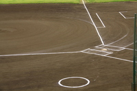 Baseball infield ground Stock photo [2025586] Batter's