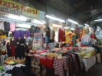 Thai clothes market Stock photo [2026597] Market