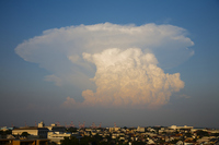 Cumulonimbus incus Stock photo [2027812] Cumulonimbus