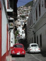 Taxco streets of Stock photo [2029805] Mexico