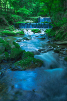 Clear stream of Kifunegawa Stock photo [2030271] Kibune